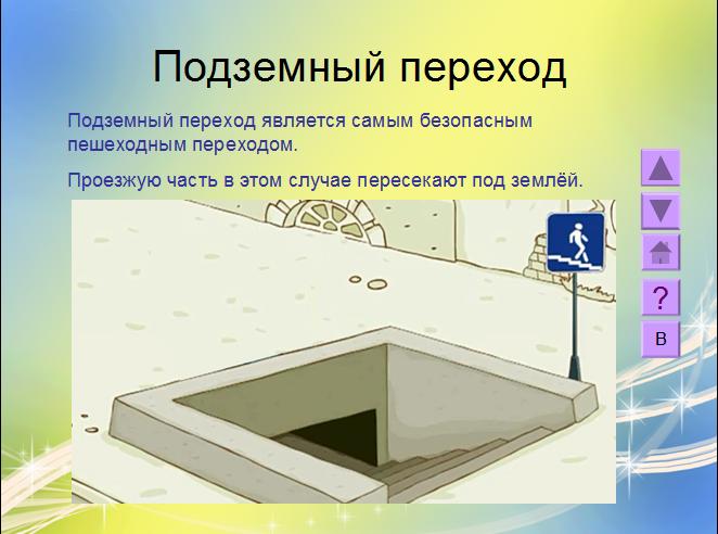 слайд теории в интерактивной презентации
